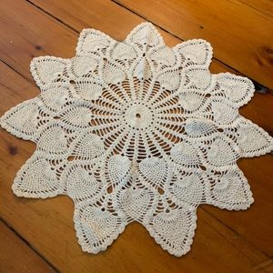 Crochet Boho Table Covering